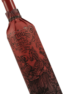 anti-valentine's day wines, wine and chocolate, valentine's day wine and food, romatic wines, anti-romance wines. curious beasts blood red wine