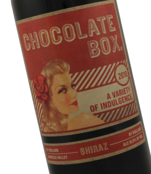 chocolate box shiraz, chocolate and wine, valentine's day wines